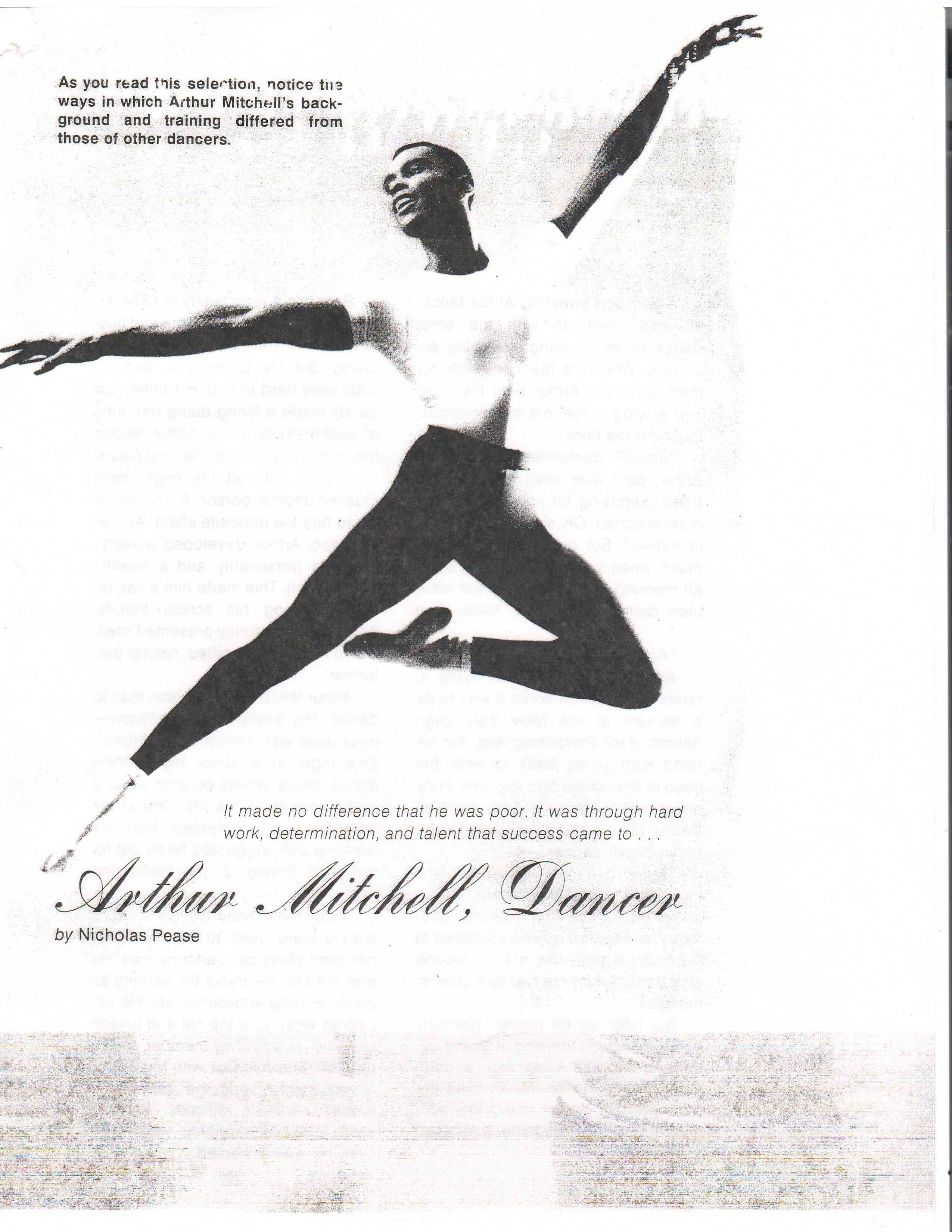 Arthur Mitchell 1