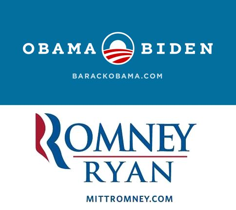 obama biden/Romney ryan
