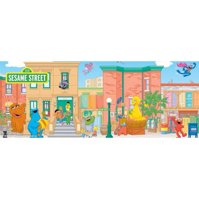 sesame street with images wall murals sesame street on simply wall street id=34068