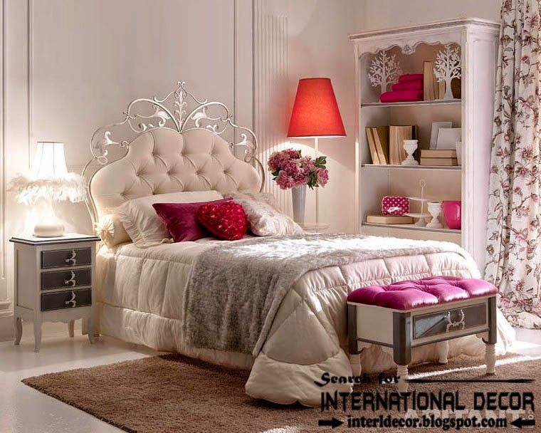 Luxury Italian Wrought Iron Bed With Tufted Headboard 2015 For Guest Bedroom Wrought Iron Beds Iron Bed Bed Design