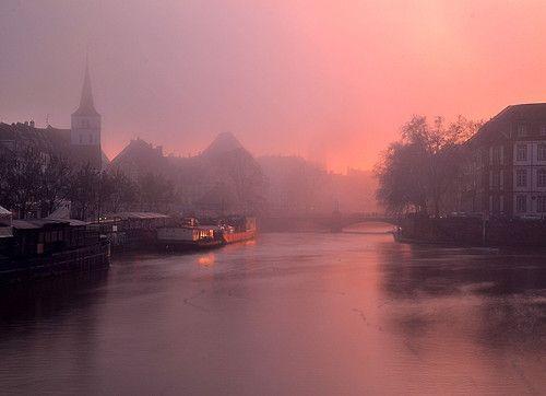 pupkinzade:  Foggy Sunset
