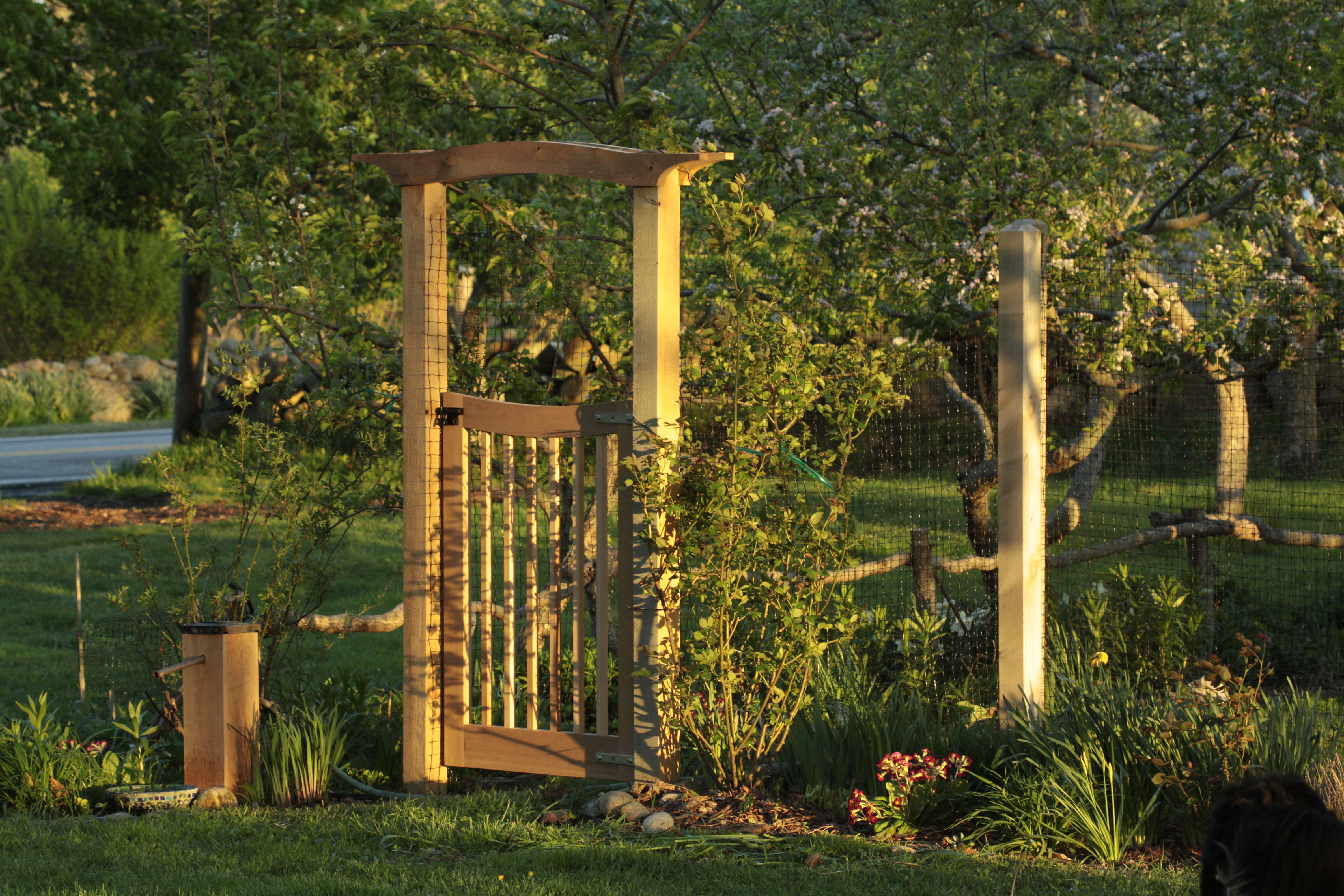 Vegetable Garden Gates - Garden Inspiration