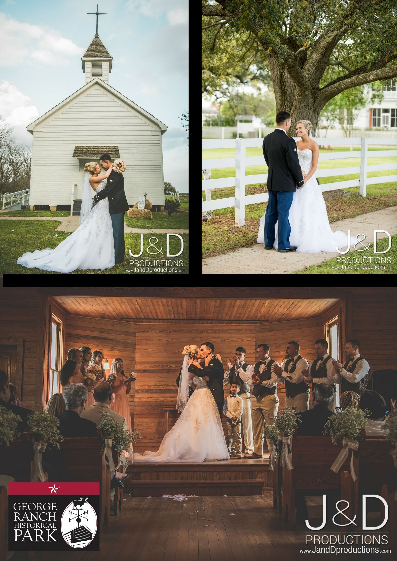 Weddings At George Ranch Historical Park In Richmond Tx