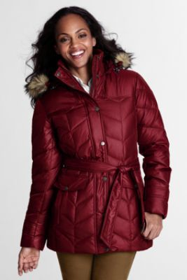 Women's Cire Down Parka from Lands' End