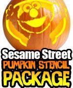 Sesame Street Stencil Package