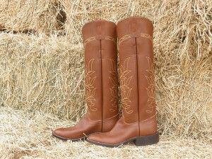 78cdc0e5ad8e Traditional western style tall pull on polo boot. Very comfortable and  designed to last for