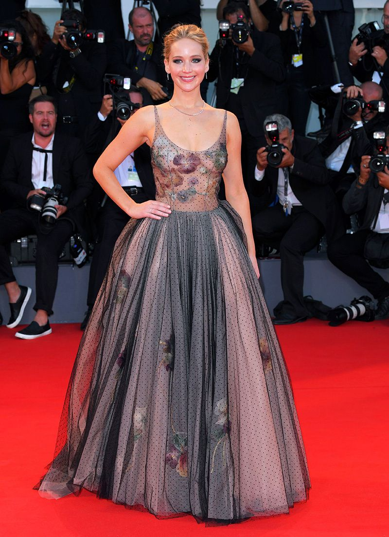 Jennifer Lawrence's 'Mother!' Press Outfits   Festival ...