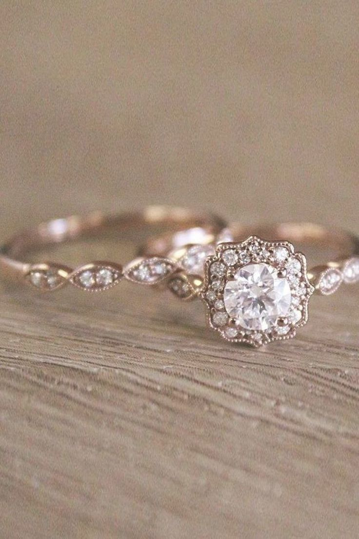 Most up-to-date Photographs Vintage wedding rings for brides who love classic …