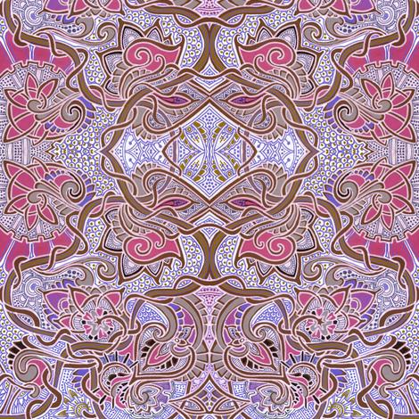 Victorian Vines fabric - edsel2084 - Spoonflower