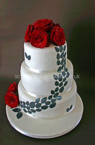 Non Fondant Wedding Cakes - http://www.talenthuntweb.com/non-fondant ...