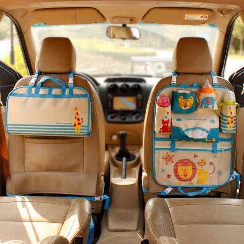 Oneup Cartoon Car Storage Bag Seat Back Storage Hang Bag Organizer