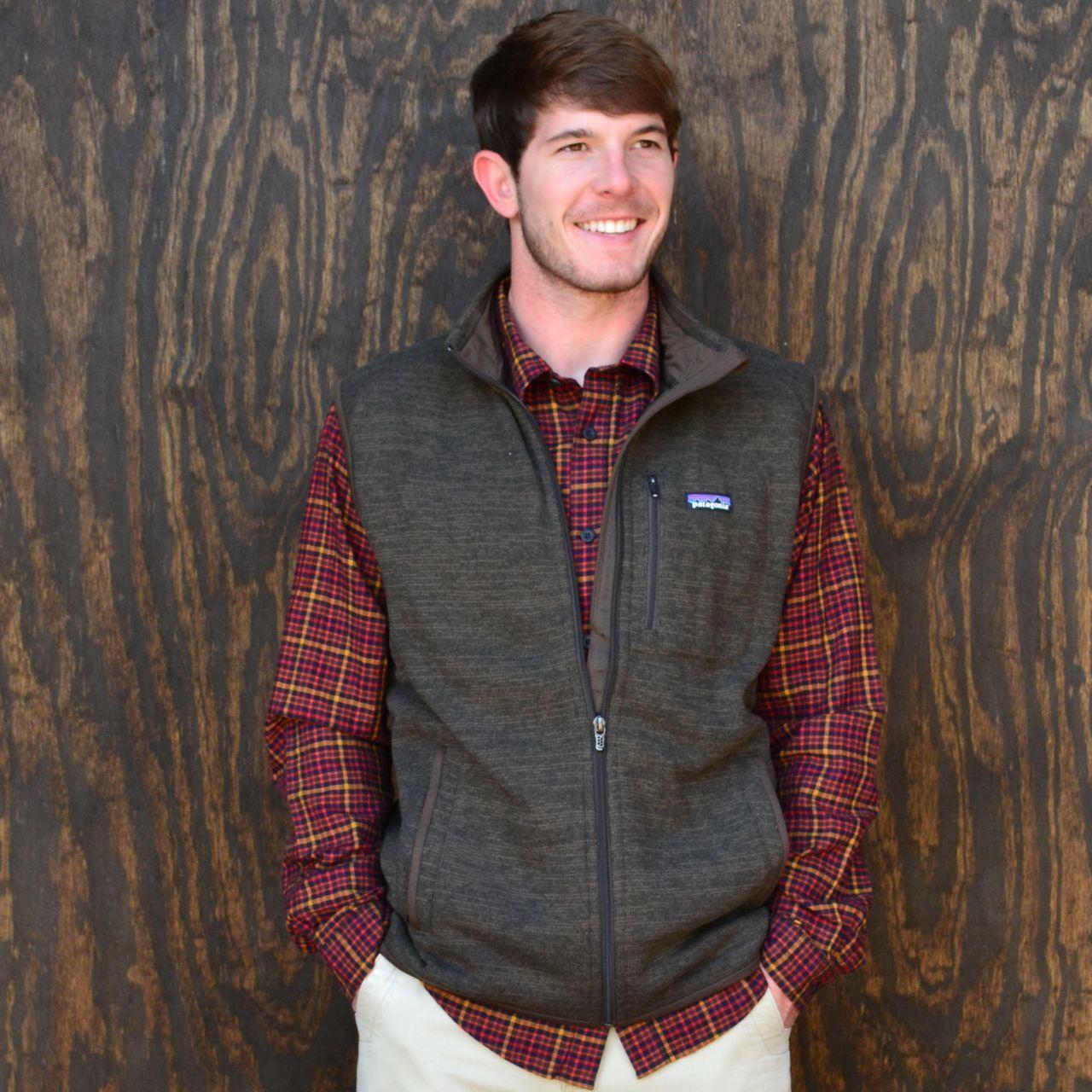 Patagonia Men S Better Sweater Fleece Vest In Dark Walnut