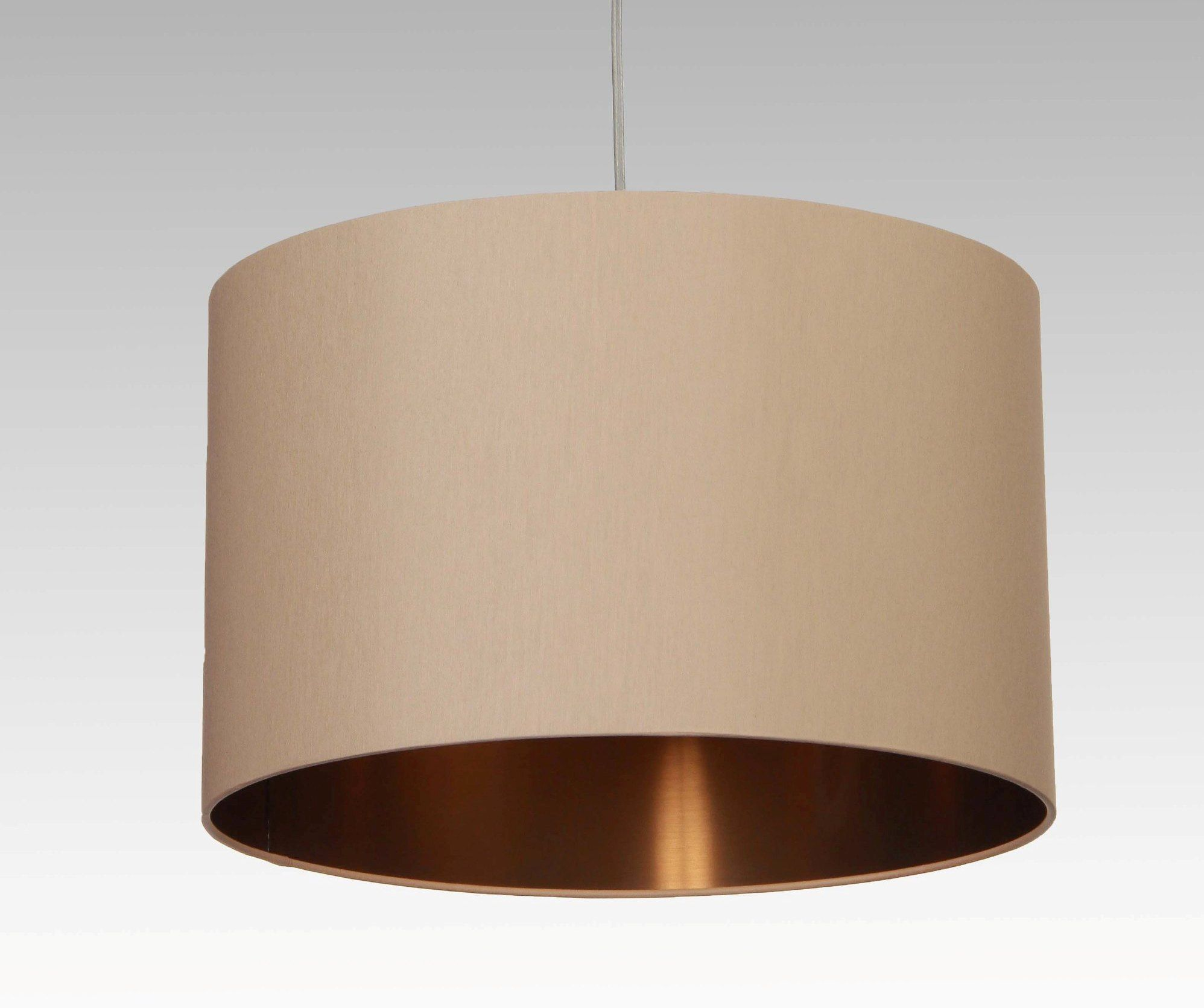 Lampenschirm Innen Kupfer, In Verschiedenen Größen (Durchmesser Und Höhe),  Als Lampenschirm Für