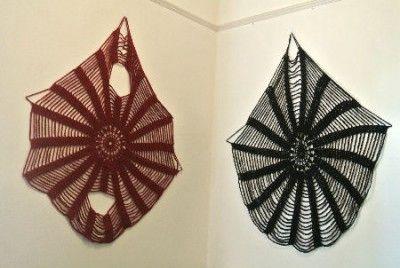 crochet wall art