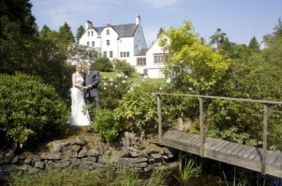 Outdoor Ceremony At Blackcauchrie Country House Estate South