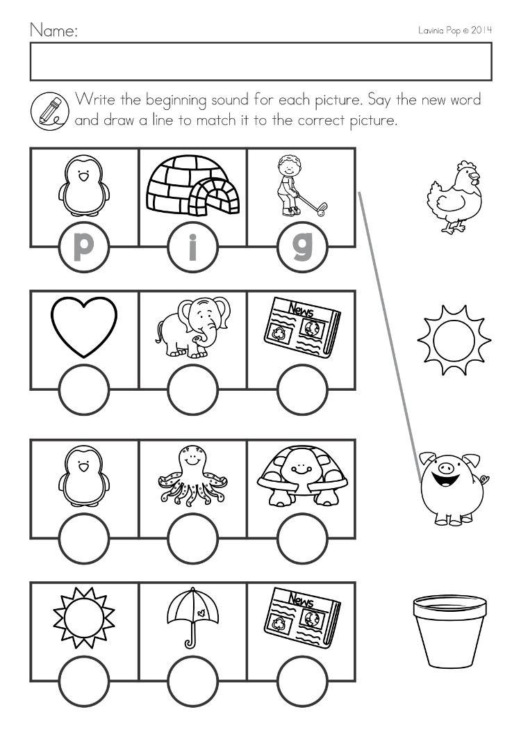 Spring Kindergarten Math And Literacy Worksheets Activities No Prep Beginning Sounds Word Family Worksheets Kindergarten Worksheets Spring Math Kindergarten [ 1060 x 750 Pixel ]