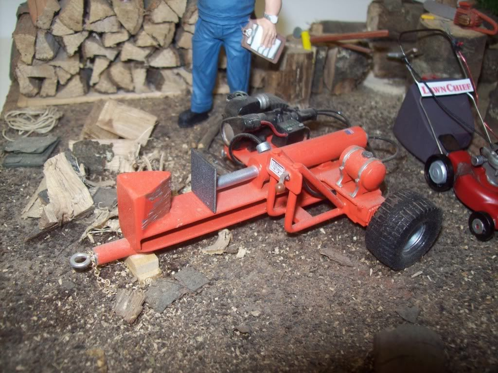 Log splitter Model cars Pinterest Log splitter and Logs
