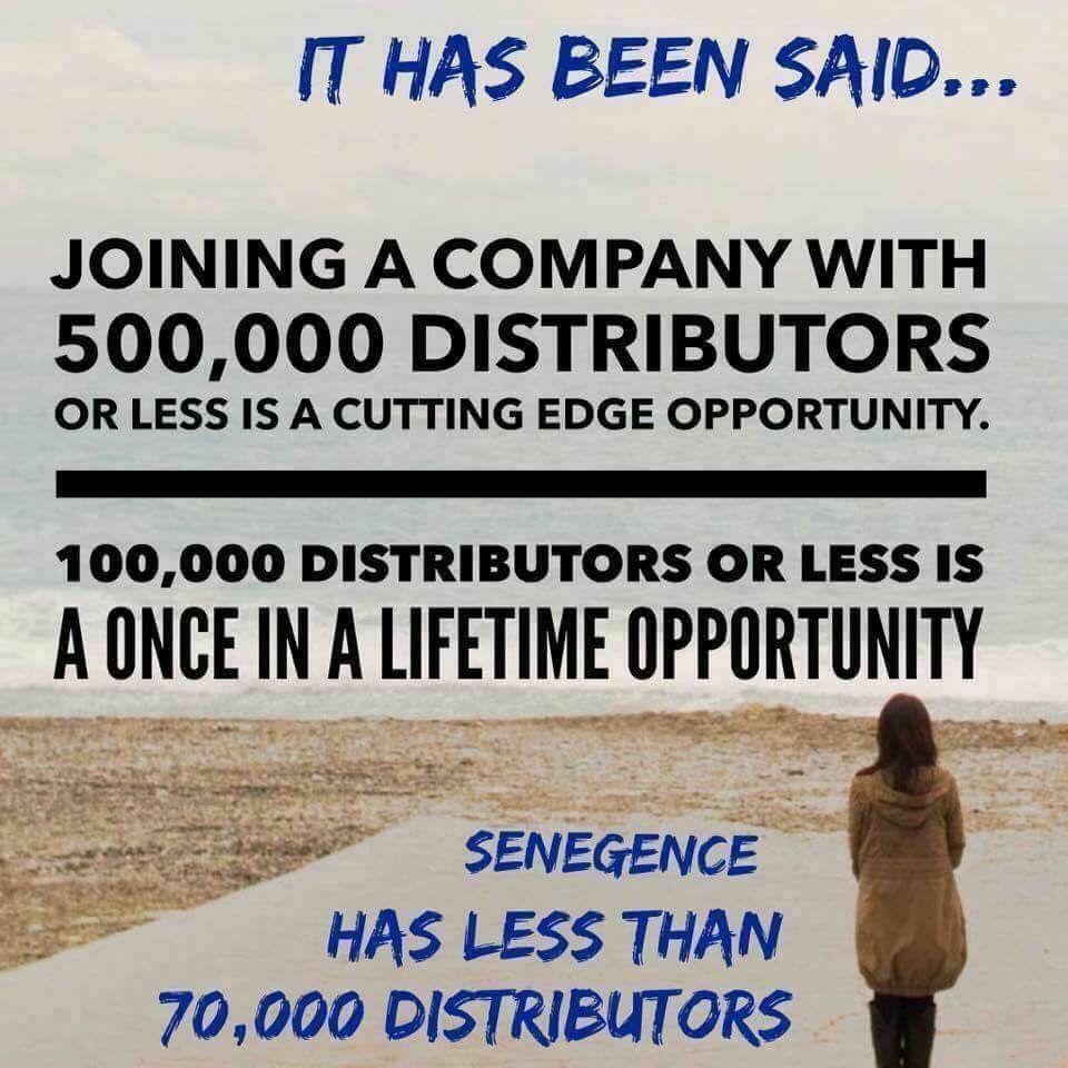 distributor 215195 wwwsenegencecomsheasantos - Independent Distributor Jobs