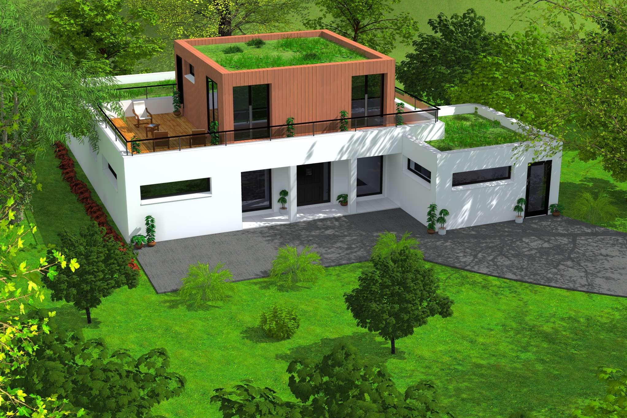 Maison D Architecture Contemporaines Maison Atypiques Constructeur Architectes Et Permis De Construire