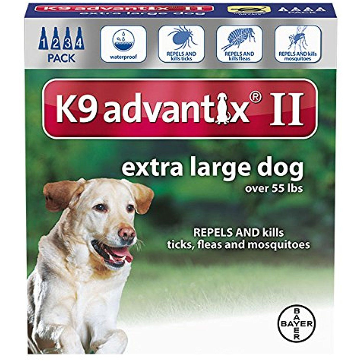 K9 Advantix Ii For Dogs 55 Pounds And Over 4 Month Supply By K 9 Advantix You Can Click Image To Review More Details This Is Dry Dog Food Dog Pounds Dogs
