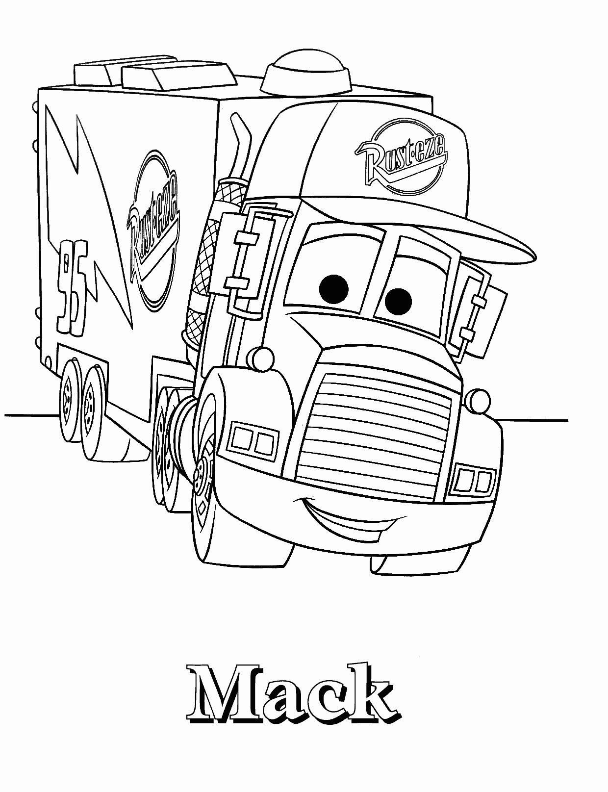 Lightning Mcqueen Coloring Pages Printable Elegant Printable Lightning Mcqueen Coloring Pages Fr Cars Coloring Pages Disney Coloring Pages Truck Coloring Pages