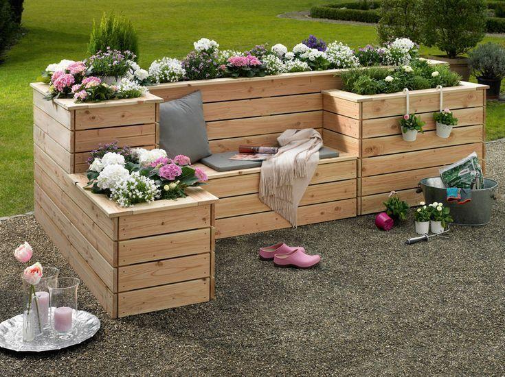 Hochbeet Sonnenplatz Hier geht es zur Anleitung - Gartengestaltung Ideen #japangarden