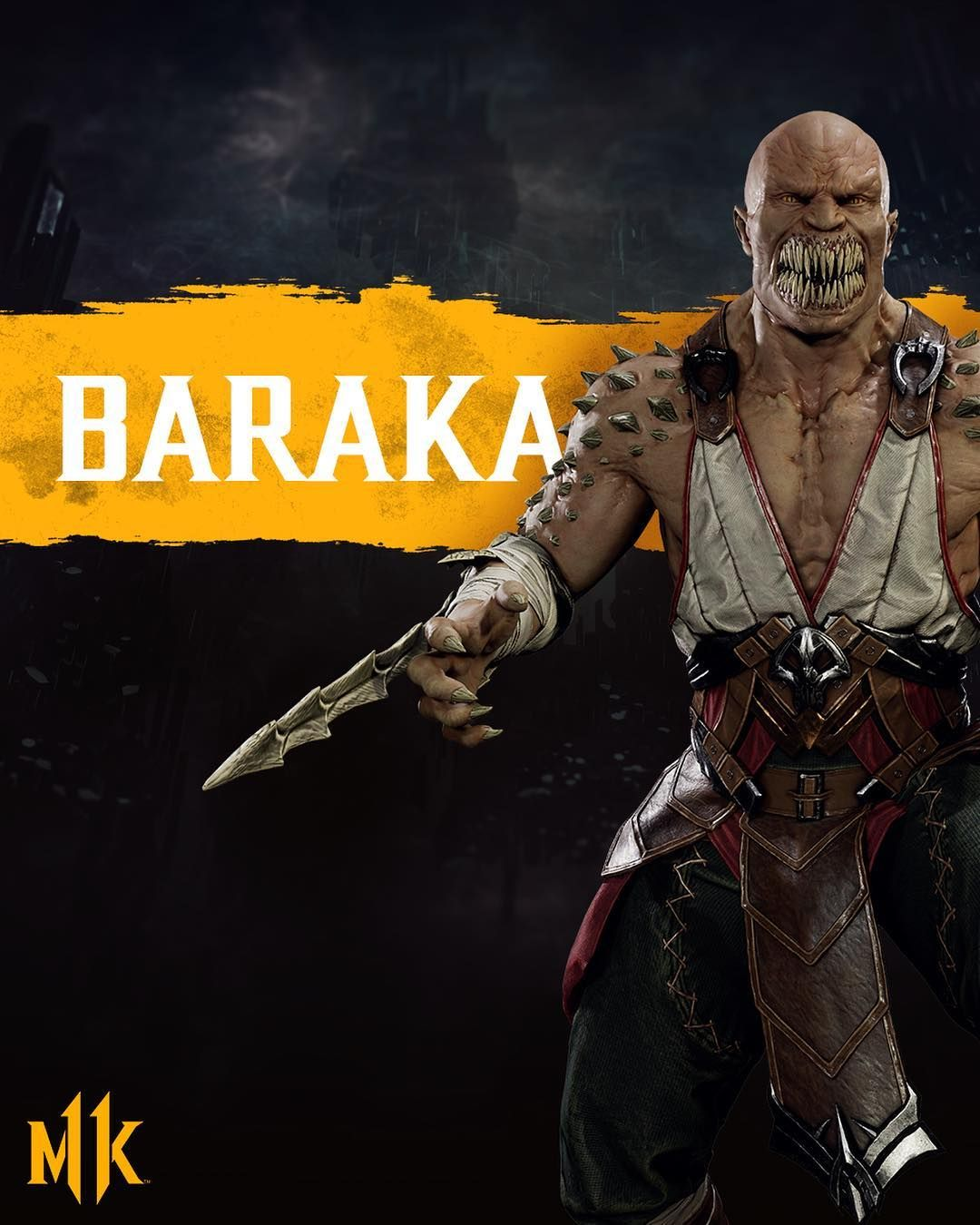 Mortal Kombat 11 On Instagram The War Chief Of The Nomadic