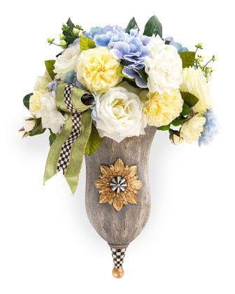 Nantucket+Entrance+Bouquet+by+MacKenzie-Childs+at+Horchow.