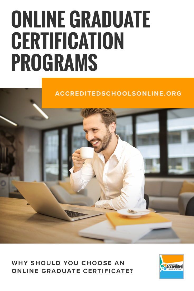 The Best Online Graduate Certificate Programs For Your Career