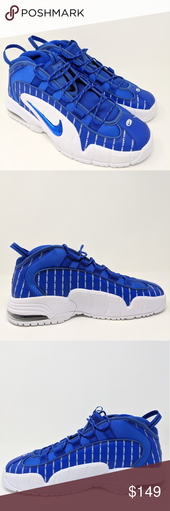 best service 55d6c 99149 Nike Air Max Penny 1 Royal Blue Hardaway Men 11.5 Nike Air Max Penny 1 royal