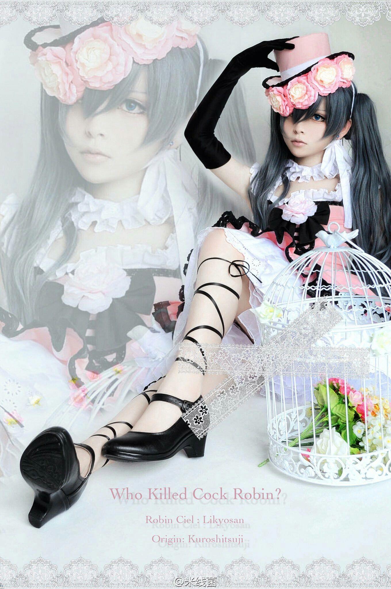 Pin by Melanie Smith on Anime Fashion Ciel cosplay