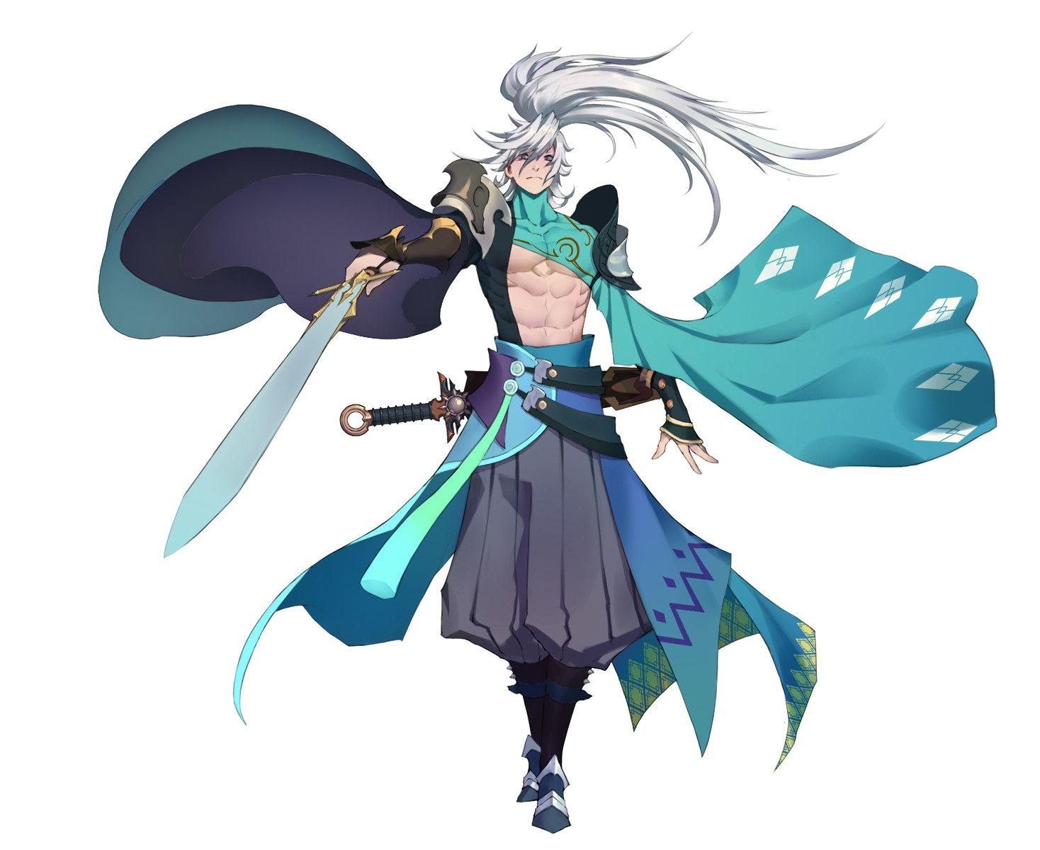 ArtStation Swordsman, X Fay