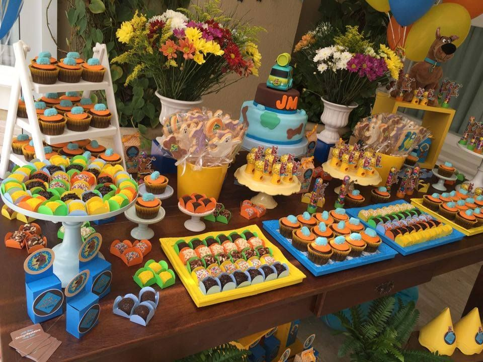 Birthday Party Ideas Scooby Doo By Design Festeiro