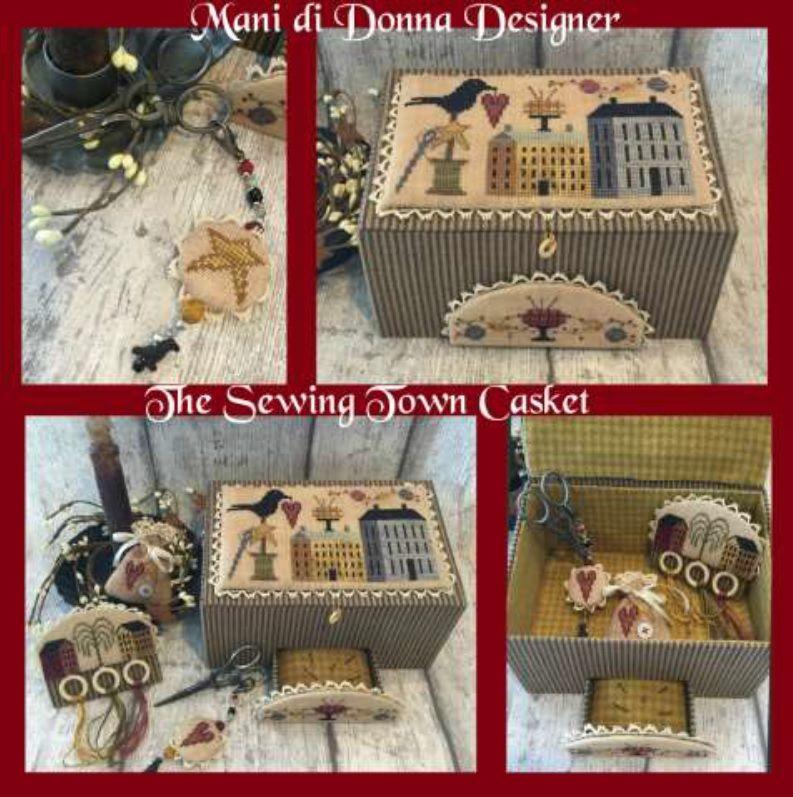 Mermaids Song Sewing Box~Mani Di Donna