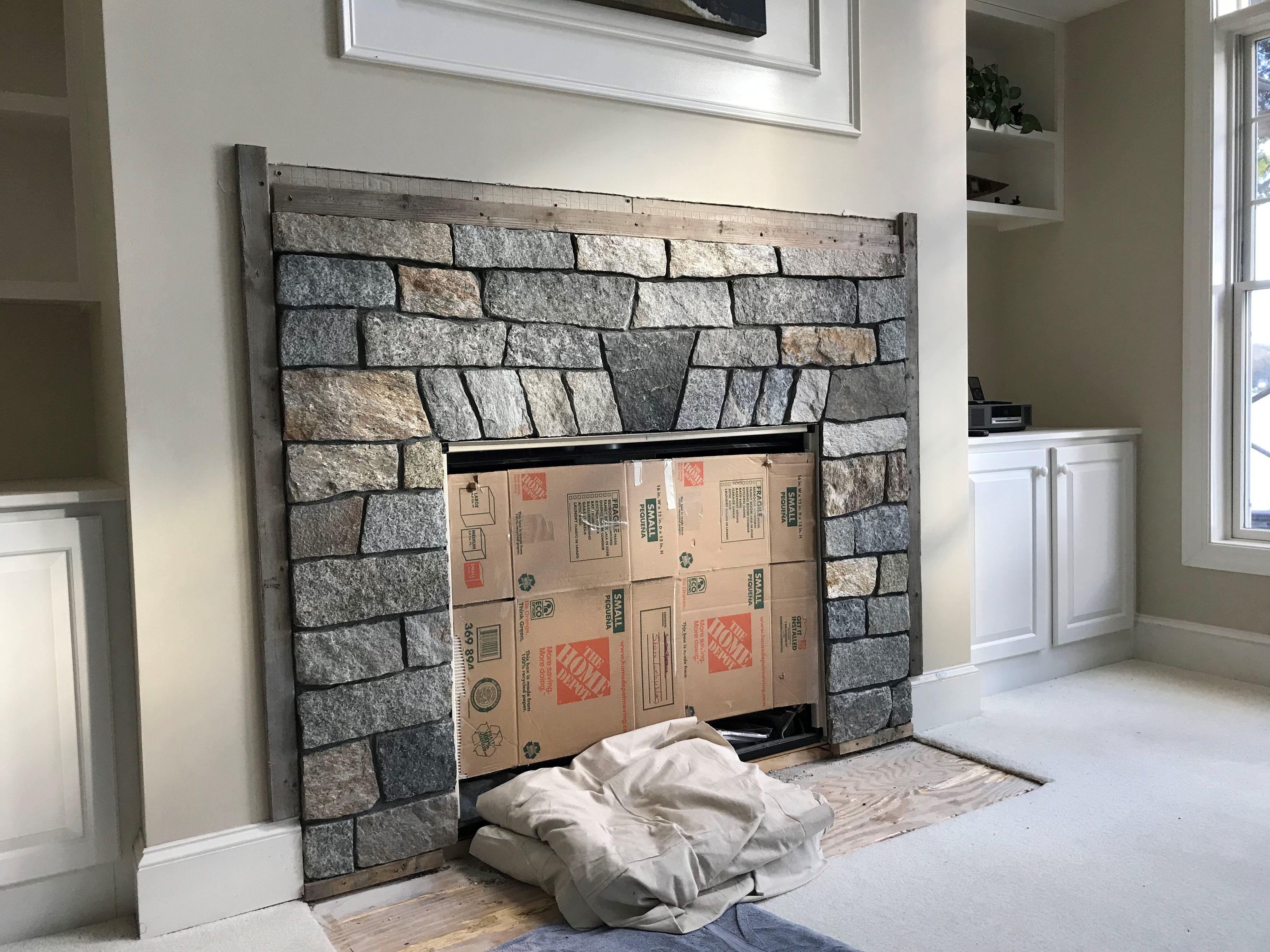Natural Stone Veneer Fireplace Benefits Of Stone Veneer Stone