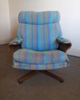 swivel chair uk gumtree build a bear recall mid century retro tessa fred lowen armchairs australia moreland area