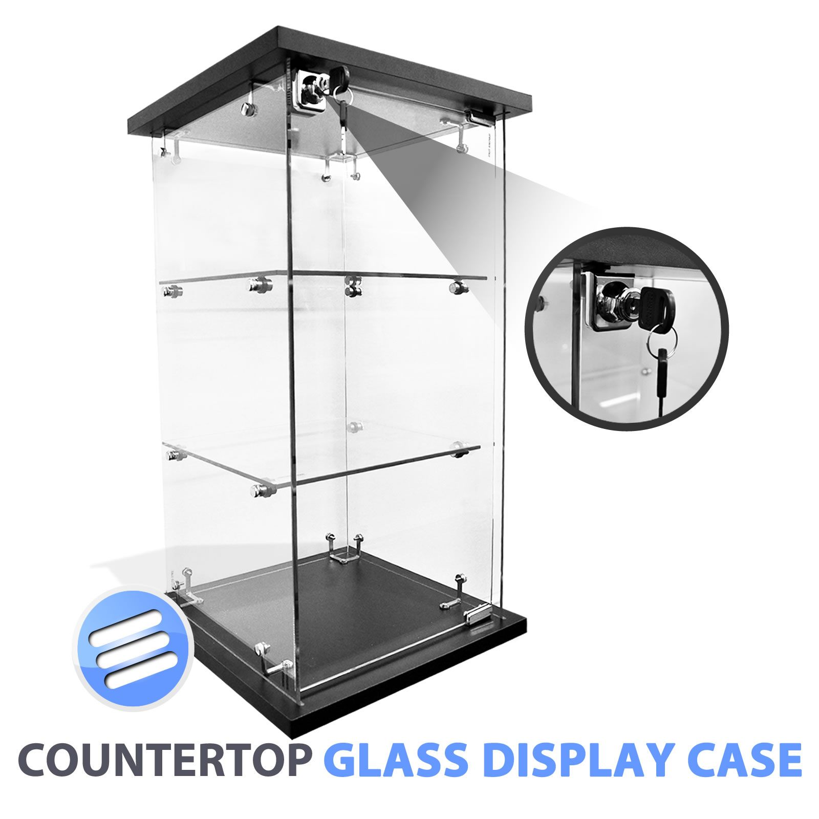Unique Retail Glass Display Cabinets