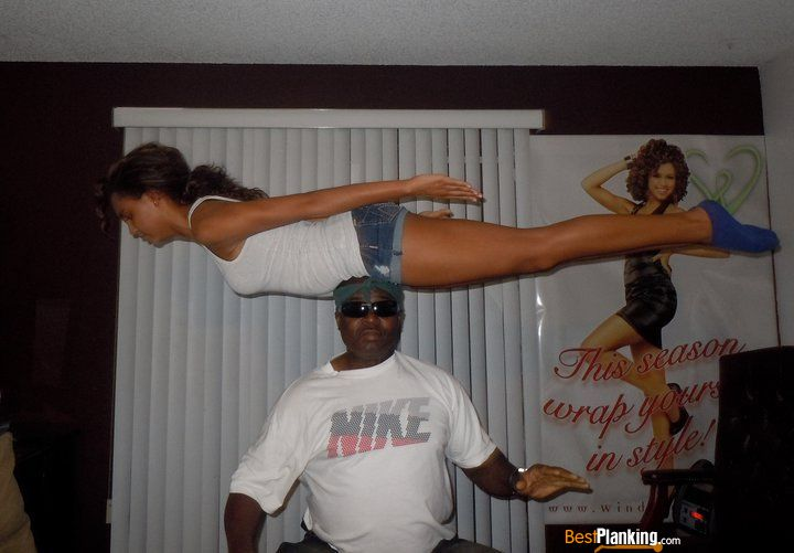 Balance planking!
