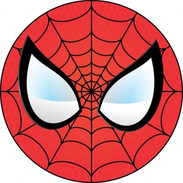 spiderman face logo spiderman mask clipart 23427wall jpg ollie s rh pinterest com spiderman logo face paint