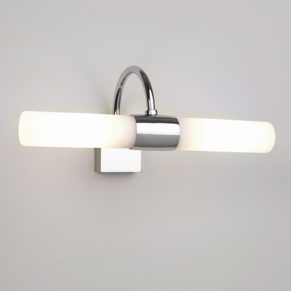 Modern bathroom lights - Modern Design For Bathroom Lighting Ideas With Bright Led Light And Glossy Frame