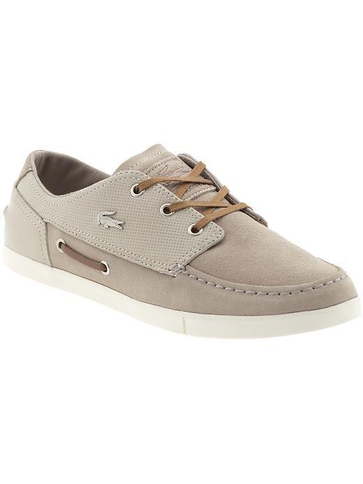 94d143709 Lacoste boat shoe