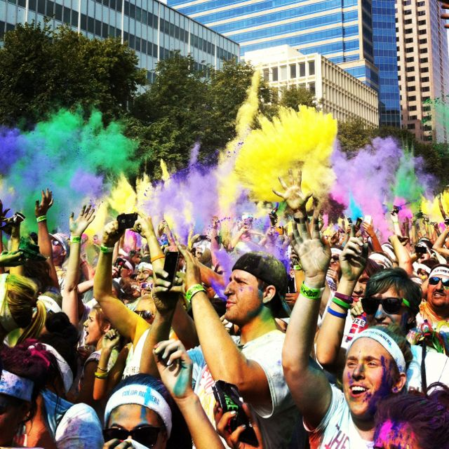 The Color Run Sacramento....doing it again this year!