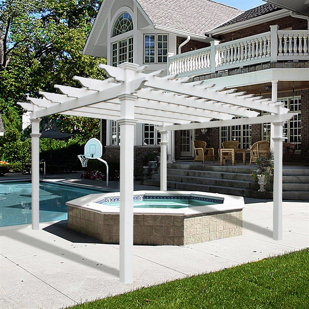 Add Pergola Outdoors And Backyard Instantly
