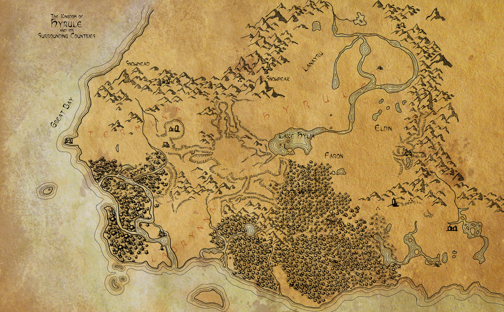 Hyrule map google search final project pinterest video game hyrule map google search gumiabroncs Images