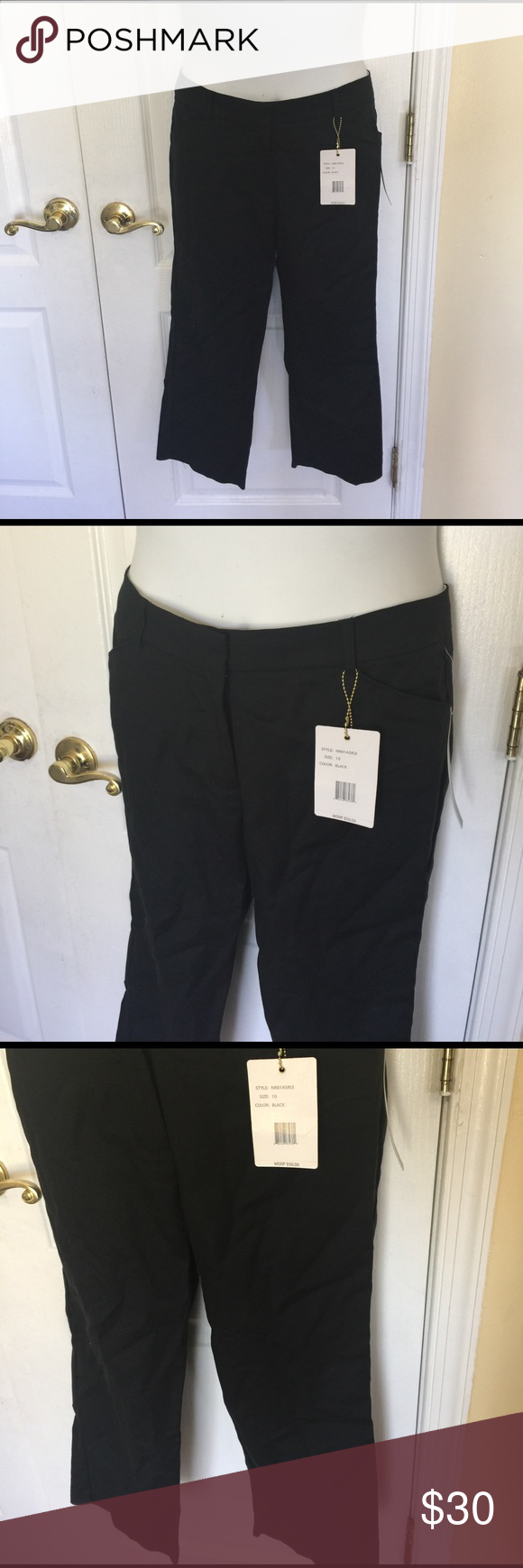 395beb3a22ca4 Zac   Rachel women s pull on slim ankle pant black Fashionable for work or  play