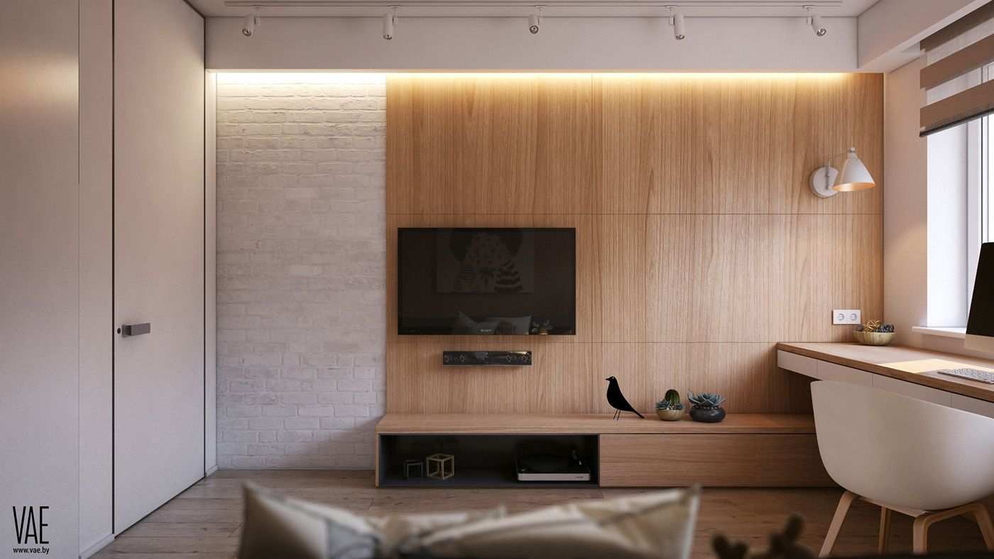 FL 55 on Behance Minimalist room design, Minimalist