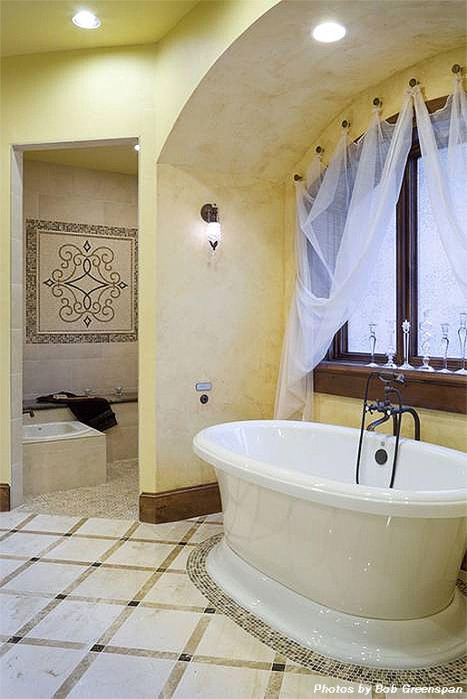Master bedroom ensuite design  Master Bath   square foot European home  Home Decor