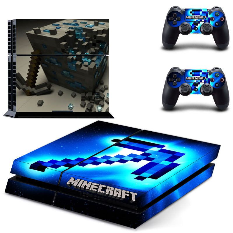 Minecraft Ps Skin Decal For Console And Controllers Dualshock - Minecraft mit joystick spielen