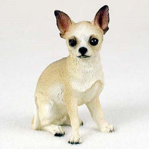 Chihuahua Tan White Figurine Chihuahua Dogs Chihuahua Most
