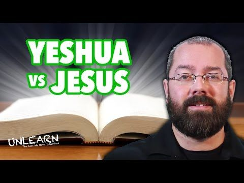 Perfect explanation!! How Yeshua became Jesus (Greek Jesus ...